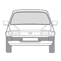 Fiesta II & III (81-89)