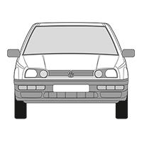 Golf Cabrio (93-02)