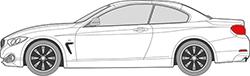 4er Serie F33 Cabrio (14-)