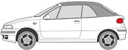 Punto Cabrio (94-00)