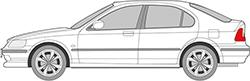 Civic 5trg. (95-01)