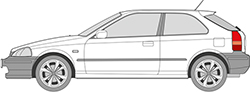 Civic 3trg. (95-01)