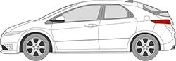 Civic 5trg. (06-12)