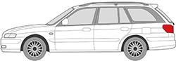 626 V Kombi (98-02)