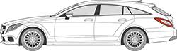 CLS W218 Shooting Brake (12-)