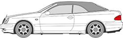 CLK-Klasse W208 Cabrio (98-02)