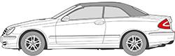 CLK-Klasse W209 Cabrio (03-09)