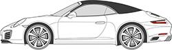 911 (991) Cabrio (12-)