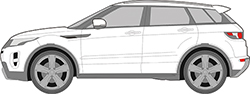 Range Rover Evoque 5trg. (11-)