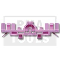 VOLVO S90/V90, 16-, WS-Klip A-Säule, rosa