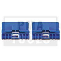 AUDI A6 Kombi, 97-05, Reparaturset Seitenscheibenführung, blau, 2 Stück