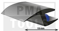 ProFlexx Universalprofil mit Butyleinlage, 19 mm, 30 m