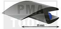 ProFlexx Universalprofil mit Butyleinlage, 25 mm, 30 m