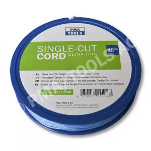 Kunststofffaden 160 daN für Single-Cut Austrennsystem, oval, blau, 50 m