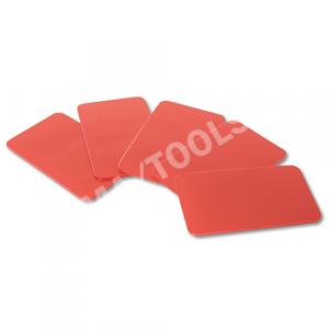 Klebeplättchen für Regen-/Lichtsensor K205/K208 Acryl, 5 Stück