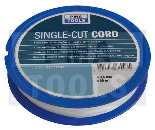 Kunststofffaden 130 daN für Single-Cut Austrennsystem, extra dünn, 50 m