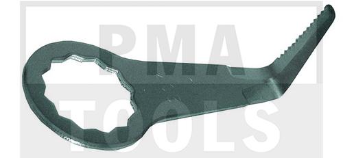 FEIN Messer 207 L-Form, gezahnt, 25 mm, 2 Stück