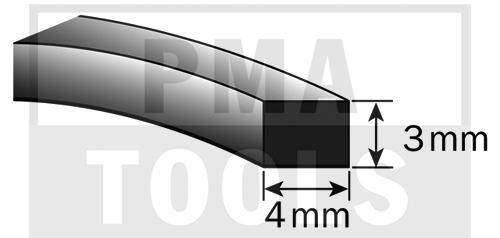 SK-Moosband, 4x3 mm, 30 m, 5 Rollen
