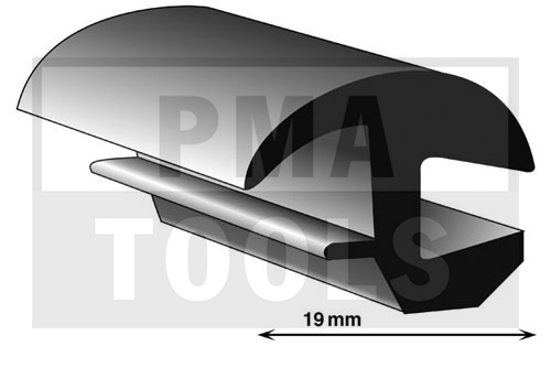 Universalprofil, 19 mm, 50 m
