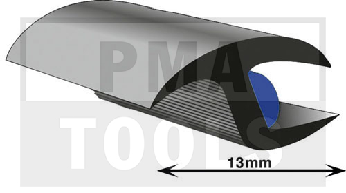 ProFlexx Universalprofil mit Butyleinlage, 13 mm, 30 m