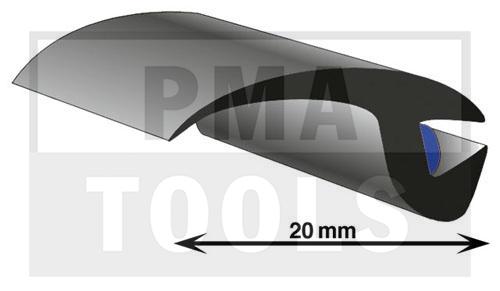 ProFlexx Universal profile with butyl, 20 mm, 23 m