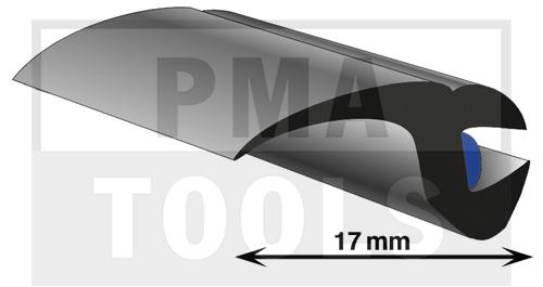 ProFlexx Universalprofil mit Butyleinlage, 17 mm, 23 m