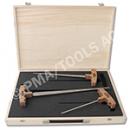 ERGO Stechahlen Set Professional, 3 Stück im Koffer