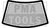 ALFA ROMEO 145, 94-00, WS-Abdeckrahmen soft