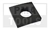 Ersatzgummipuffer für Scheibenständer, 50x50 mm