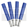Rod extension set for glass rack, 200 mm, 4 pcs.