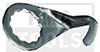 FEIN Messer 076 U-Form, kurzer Schenkel, 24 mm, 2 Stück