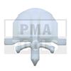 OPEL Astra H/Astra GTC, 04-10, Befestiger Windleitblech, weiß