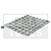 OPEL Zafira, 99-05, Abstandhalter, selbstklebend, transparent, 56 Stück