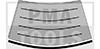 MINI R50/R53, 01-06, RW-Leiste, unten, Chrom