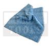 Poliertuch mit 2 Seiten, blau, 400x400 mm