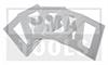 Klebeplättchen für DSRC-Mautgeräte TOLL COLLECT, 5 Stück