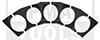 Klebeplättchen für LDW Kamerahalter, 5 Stück