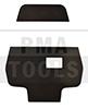 MERCEDES Actros (Fahrerhaus 2300 mm breit), 12-, Klebeplättchen für Kamerahalter Spurassistent, 5 Stück