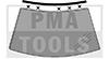 NISSAN Primera P11, 96-02, WS-Leiste inkl. Klipse, oben, Metall, 6tlg.