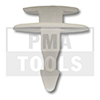 HONDA CR-V, 02-06, WS-Klip, weiß