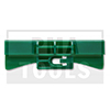 HONDA Civic 5trg., 01-05, WS-Klip A-Säule, grün