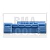 HONDA Civic 5trg., 01-05, WS-Klip A-Säule, blau