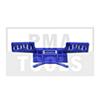 HONDA Civic 5trg., 06-12, WS-Klip Leiste A-Säule, blau