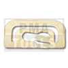 MITSUBISHI Colt V, 96-04, WS-Klip A-Säule, weiß
