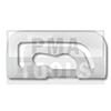 MITSUBISHI Galant E30 5trg., 88-92, WS-Klip Karosserie A-Säule, weiß