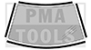 HONDA Civic 4/5dr, 16-, WS-Moulding set self-adh., 4 pcs.