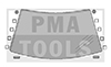 MAZDA 323 V 5trg., 94-98, WS-Klipse Set, 10 Stück