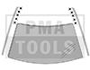 MERCEDES A-Klasse W169, 04-12, WS-Klipse Set Dachleiste, 10 Stück