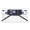 BMW 7 Series F01/F02, 08-15, WS-Clip roof, black/metal