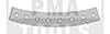 MERCEDES E-Klasse W211, 02-09, Befestiger Set Windleitblech, 8 Stück